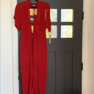 NWT REFORMATION Swiss Jumpsuit